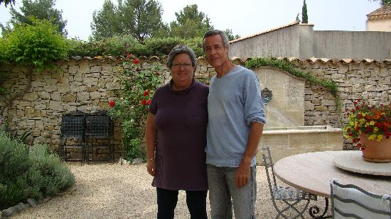 Bastide Sainte Agnes : Proprietors/what a nice couple