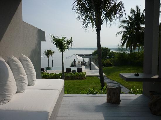 The Lombok Lodge : The view from our room