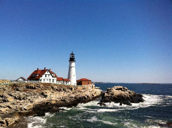 Portland Head Light: Stunning View