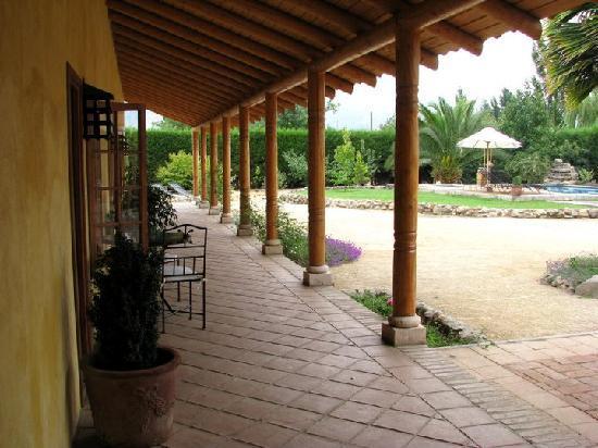 Posada Colchagua: vista patio