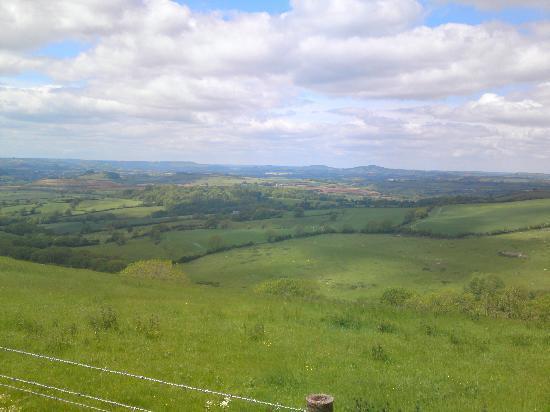 Γουέιμουθ, UK: egerdon hill view