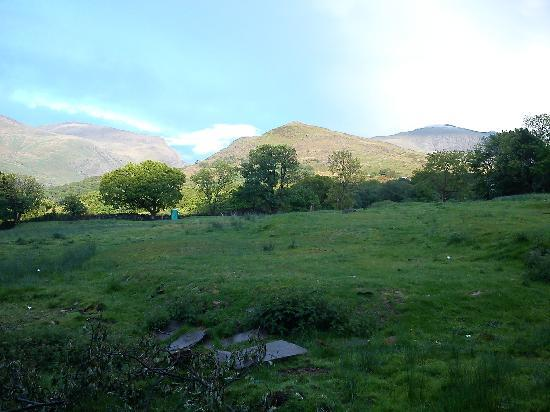 YHA Snowdon Llanberis : View 2 from outside the Hostel