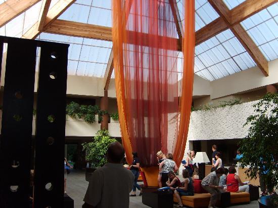 Defne Star Hotel: Lobby-Rezeption