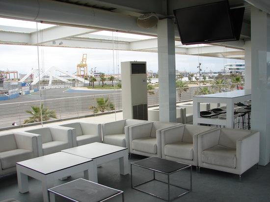 chill out area bild von panorama valencia tripadvisor. Black Bedroom Furniture Sets. Home Design Ideas