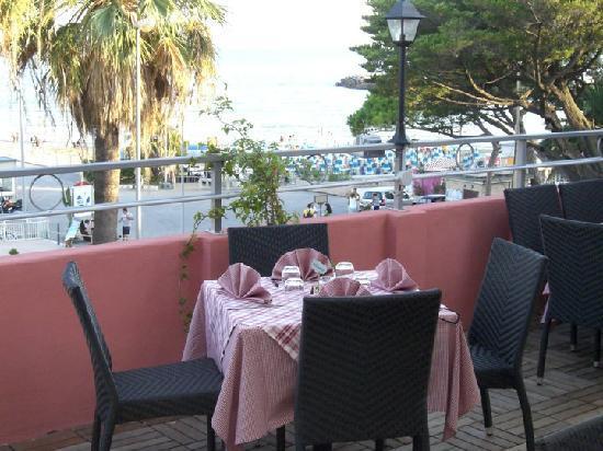 Terrazza Hotel Ristorante Principe Decurtis diano Marina