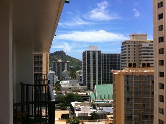 Waikiki Resort Hotel: Views to Diamond Head