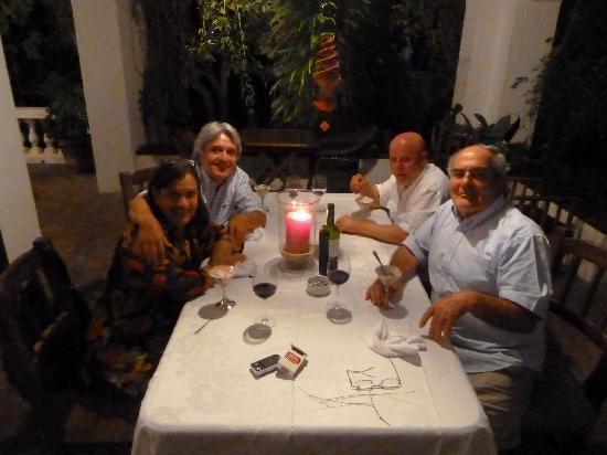 Hotel Villa Victoria de Tigre: A lume di candela