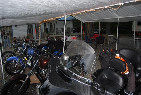 Reedville, VA: Group met to get the scoots ready for the season