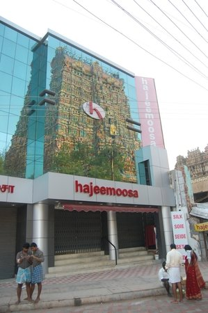 Madurai, Indien: The Elevation of the store