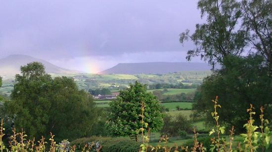 Bryndu Farm: The view