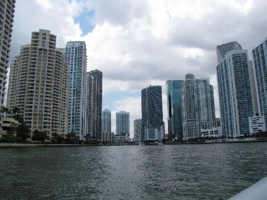 Ocean Force Adventures : Downtown Miami Entrance to Miami River