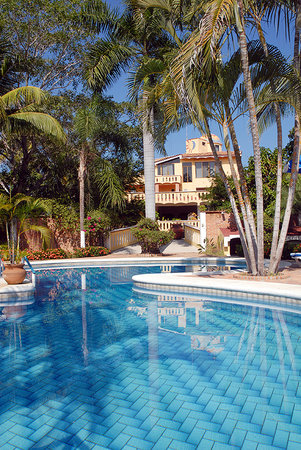 Villa Corona del Mar : Main Pool Area and Gardens