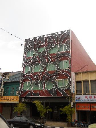 Batik Boutique Hotel: Front of hotel