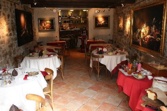 Hotel Restaurant des Deux Rocs: Hotel dining room