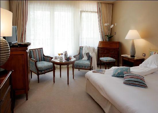 """Hostellerie La Cheneaudiere - Relais & Chateaux: chambre """"Les Terrasses"""""""