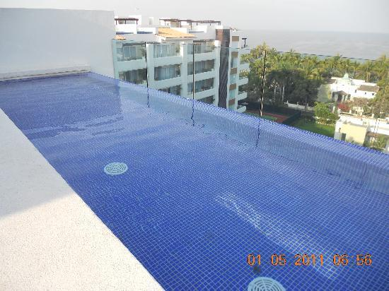 Marival Residences Luxury Resort: Private plunge pool with oceanviews