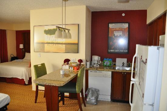 Residence Inn Miami Aventura Mall: our nice room