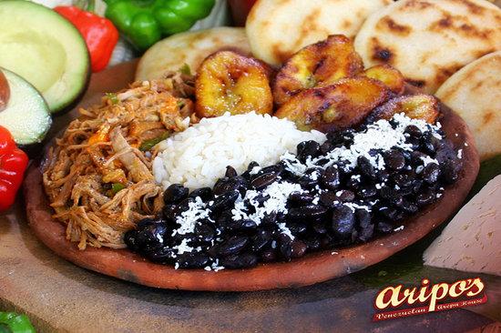 Aripo's Venezuelan Arepa House : Venezuela's National Dish - Pabellon Criollo