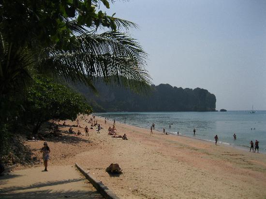 โรงแรมอ่าวนาง กู๊ดวิลล์: Ao nang beach