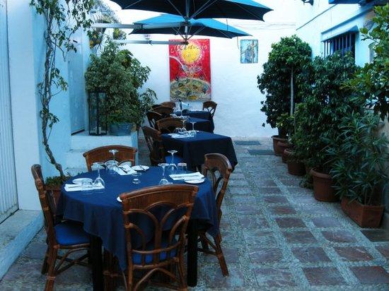 Il Cantuccio: Un lugar maravilloso, la mejor comida casera que podrás degustar en Marbella; Brigitt la cociner