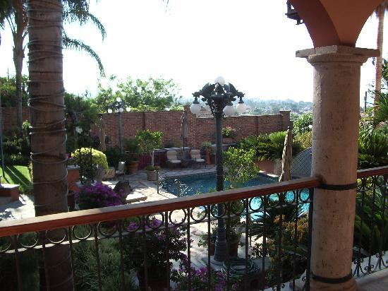Casa Tres Leones: View from the mezzanine