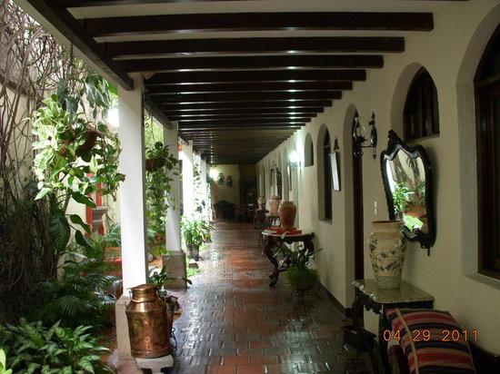 Casa Florencia Hotel: Planta baja