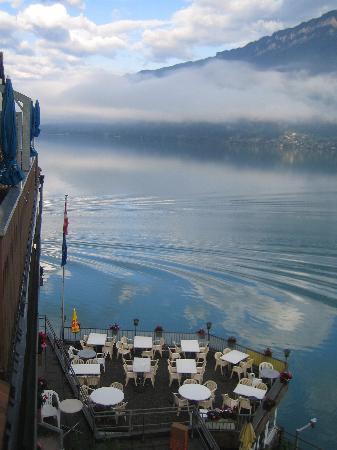 Strandhotel: Vista della terrazza ristorante