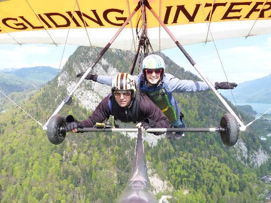 Hang Gliding Interlaken : I'm flying!