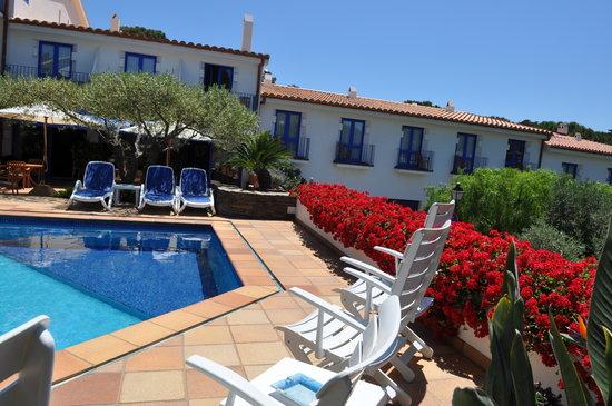 Hotel Blaumar Cadaques : vista general