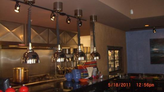 Ciao Mambo: cooking area