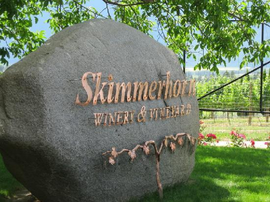 Creston, Canada: Skimmerhorn Winery
