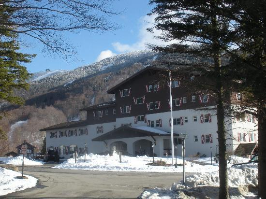 Mittersill Alpine Resort: Front of resort
