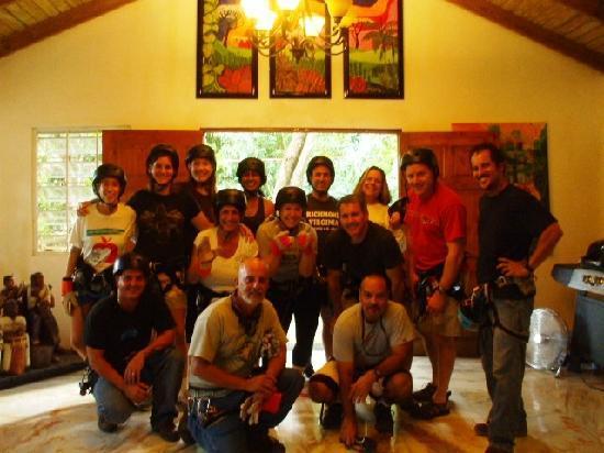 Rio Grande, Puerto Rico: un gran grupo