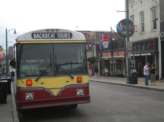 Backbeat Tours: The Bus on Beale St.