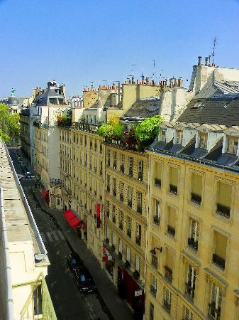 Hotel Concortel: BALCONY STREET VIEW