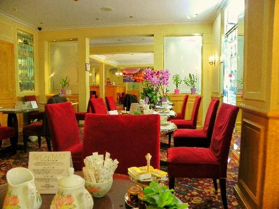 Hotel Concortel: BREAKFAST IN THE DINING ROOM
