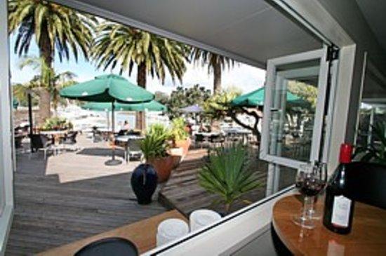 Salt Restaurant & Bar: the outside deck
