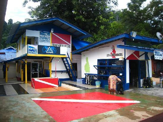 Babura Seaview: Babura dive center