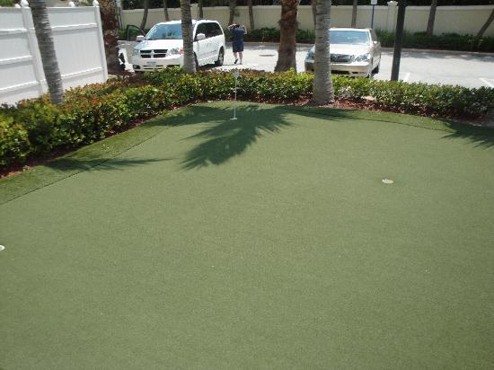 Little Golf Area Fotograf A De Homewood Suites By Hilton Palm Beach Gardens Palm Beach Gardens