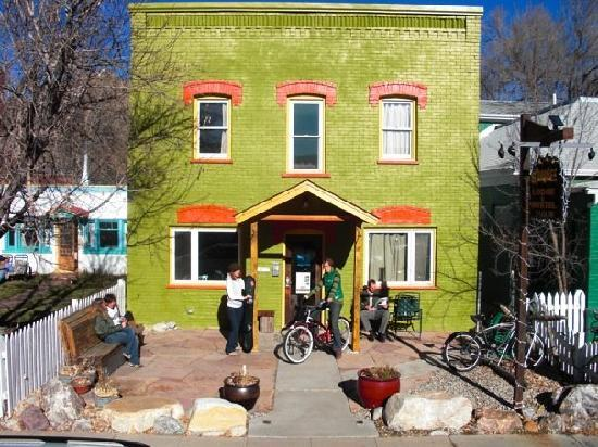 Simple Lodge & Hostel, park your bike and skis here