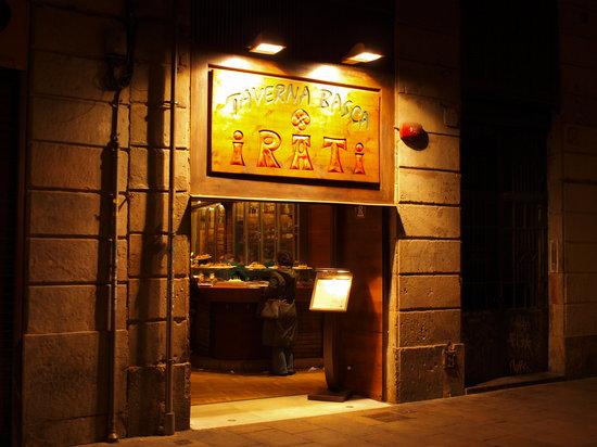 Irati Taverna Basca: Taverna Basca Iratiの外観です!