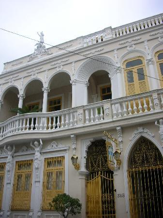 Pousada Colonial: Front of the hotel