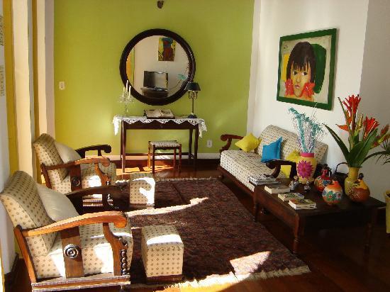 Pousada Colonial: common relaxing area