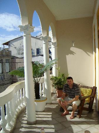 Pousada Colonial: common terrace