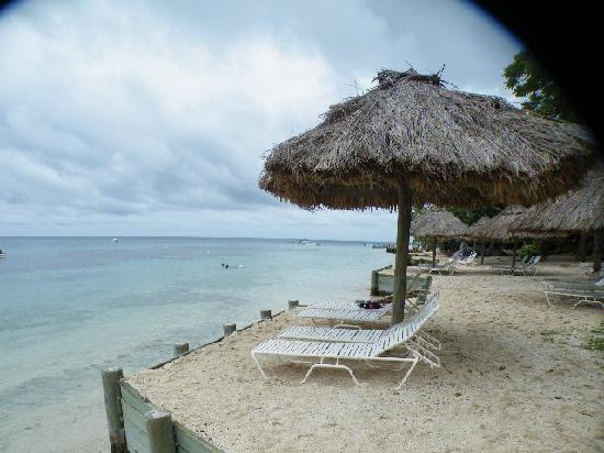 Castaway Island Fiji: Our private sun chairs