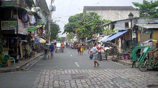 Cobblestone streets in old spanish part of manila philippines cobblestone streets in old spanish part of manila philippines sciox Image collections
