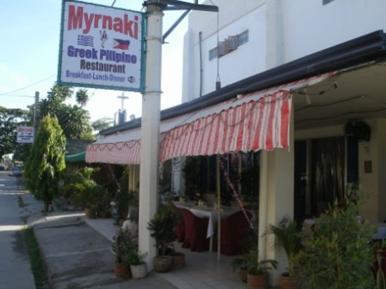 Myrnaki Restaurant: Myrnaki outside terrace