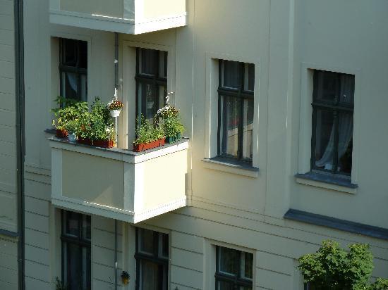 Hotel-Pension Victoria: Blick aus dem Zimmerfenster