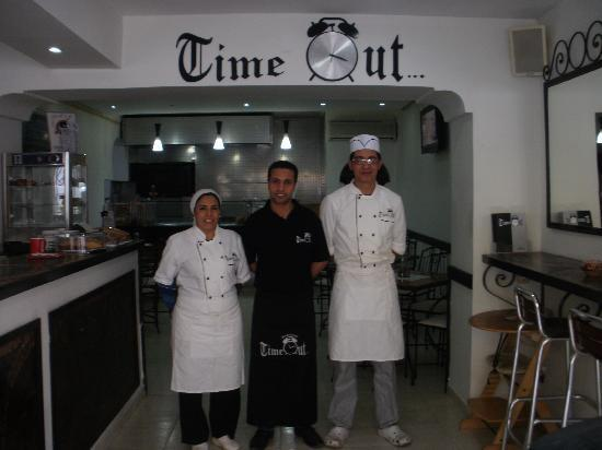 Time Out Restaurant : Our friendly staff welcome you all...