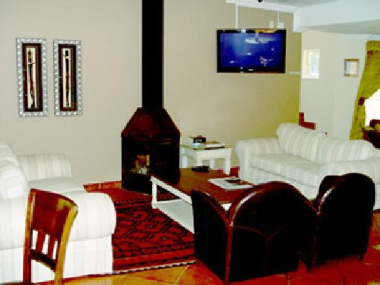 Sandton Bed and Breakfast: Relax infront of the fireplace on those cold nights